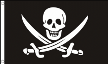 CALICO JACK RACKHAM PIRATE - 8 X 5 FLAG